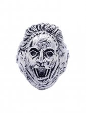 Texas Chainsaw Massacre Ring Leatherface (Plated Brass) Size 12