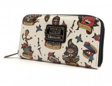 Marvel by Loungefly Wallet Tattoo Flash Print (Guardians of the