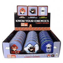 Nintendo Tins Super Mario Bros Know Your Enemies Candy Sours Dis