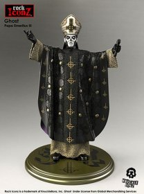 Ghost Papa Rock Iconz Socha 22 cm