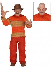 Nightmare On Elm Street Retro Action Figure Freddy Classic Video
