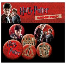 Harry Potter sada odznaků 6-Pack Icons