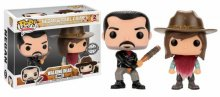 Walking Dead POP! TV Vinylová Figurka 2-Pack Negan & Carl Grimes