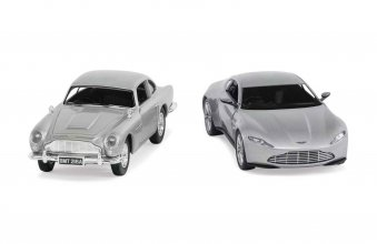 James Bond kovový model 2-Pack 1/36 Aston Martin DB10 & DB5