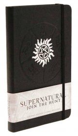 Supernatural Hardcover Ruled Journal Logo