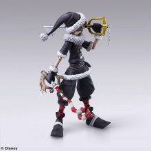 Kingdom Hearts II Play Arts Kai Akční figurka Sora Christmas Tow