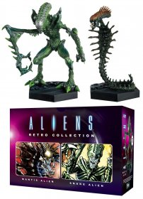 Aliens Retro Collection Figure 2-Pack Mantis Alien & Snake Alien