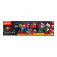 World of Nintendo mini figurka 5-Pack Super Mario Odyssey Theme