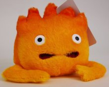 Howl's Moving Castle Plush Figure Calcifer 14 cm