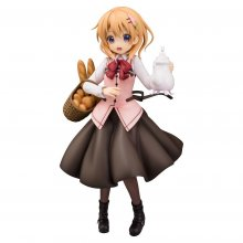 Is the Order a Rabbit PVC Socha 1/7 Cocoa (Cafe Style) 23 cm