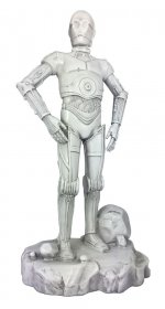 Star Wars Garden Ornament Stone C-3PO 42 cm