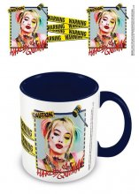 Birds Of Prey Coloured Inner Hrnek Harley Quinn Warning