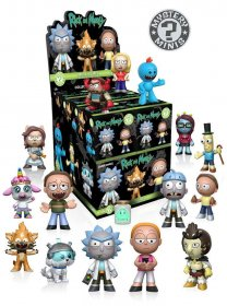 Rick and Morty Mystery mini figurky 5 cm Display (12)