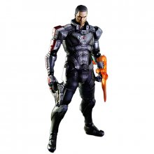 Mass Effect 3 Play Arts sběratelská figurka Commander Shepard