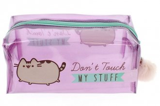 Pusheen Pencil Case Don't Touch My Stuff