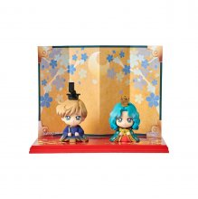 Sailor Moon Petit Chara mini figurka 2 Set Hinamatsuri Haruka &