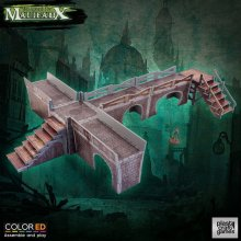 Malifaux ColorED Miniature Gaming Model Kit 32 mm Sewers Walkway