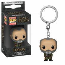 Game of Thrones Pocket POP! vinylový přívěšek na klíče Davos 4 c
