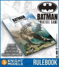 Batman Miniature Game 2nd Edition Rulebook *English Version*