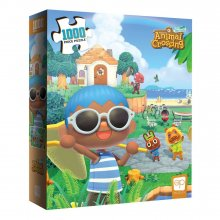 Animal Crossing New Horizons skládací puzzle Summer Fun (1000 pi