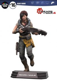 Gears of War 4 Color Tops Akční figurka Kait Diaz 18 cm
