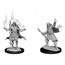 Pathfinder Battles Deep Cuts Unpainted Miniatures Elf Sorcerer M