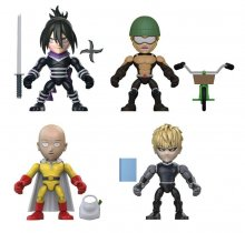 One Punch Man Action Vinyls mini figurky 8 cm Display Wave 1 (12