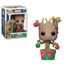 Marvel Comics POP! Marvel Holiday Vinyl Bobble-Head Groot (Light