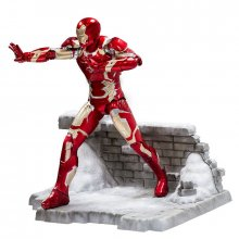 Socha Iron Man Mark XLIII 20 cm Avengers Age of Ultron