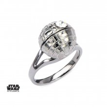 Star Wars Ring 3D Death Star Size 09