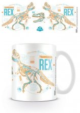 Jurassic World Fallen Kingdom Mug T-Rex Stats