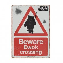 Star Wars Tin Sign Ewok 21 x 15 cm