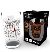 Five Nights at Freddy´s Pint Glass Fazbear