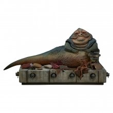 Star Wars Episode VI Akční figurka 1/6 Jabba the Hutt & Throne D