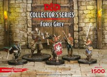 D&D Collectors Series Miniatures Unpainted Miniatures 5-Pack For