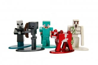 Minecraft Nano Metalfigs Diecast mini figurky 5-Pack Wave 2 4 cm
