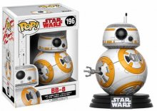 Star Wars Episode VIII POP! Vinyl Bobble-Head BB-8 9 cm
