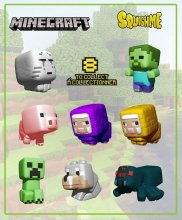 Minecraft Squishme Anti-Stress Figures 6 cm Display Series 1 (24