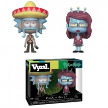 Rick and Morty VYNL Vinyl Figures 2-Pack Rick & Unity 10 cm