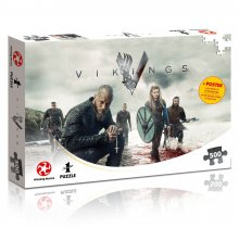 Vikings skládací puzzle The World Will be Ours