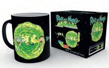 Rick and Morty Heat Change Mug Portal