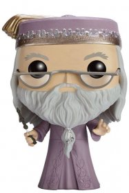 Harry Potter POP! Movies Vinyl Figure Dumbledore with Wand 9 cm