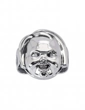 Child's Play 2 Ring Good Guy's Chucky (Sterling Silver) Size 09