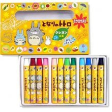 My Neighbor Totoro Coloured Pencil 12-Pack Friends