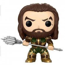 Justice League POP! figurka Aquaman (Armored) 9 cm