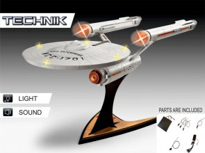 Star Trek Level 5 Model Kit with Sound & Light Up 1/600 USS Ente