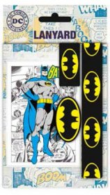DC Comics Lanyard with Rubber Keychain Batman