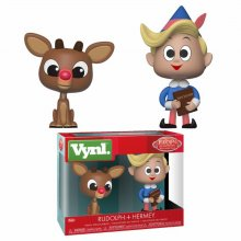 Rudolph the Red-Nosed Reindeer VYNL Vinylové Figurky 2-Pack Rud