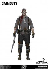 Call of Duty Action Figure John 'Soap' MacTavish Variant Exclusi