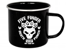 Five Finger Death Punch Enamel Hrnek Got Your Six